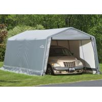 Fashionable Outdoor Car Shelter / Vehicle Storage Tents For Parking Silver Color Manufactures