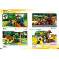 Commercial kids plastic outdoor playground toys guangzhou Manufactures