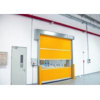 China Transparent Window Commercial Garage Doors Stainless Steel Frame on sale
