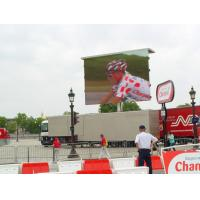 High Brightness Outdoor Led Display Boards P10mm SMD / DIP For Advertising / Events Manufactures