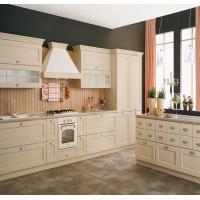China White Color White Shaker Kitchen Cabinets , Pre Assembled Kitchen Cabinets on sale