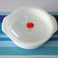 Food Grade Silicone Microwave Steamer Non Stick For Home Smooth Surface Manufactures