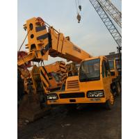 Manual Transmission 25 Ton QY25E Truck Crane From China Original Used XCMG Crane Manufactures