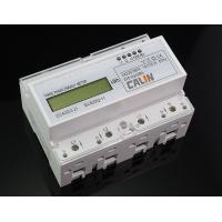 Class 1S Accuracy Din Rail Power Meter RTU Protocol 3 Phase Power Meter Manufactures