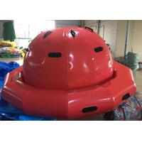 PVC Tarpaulin Inflatable Water Floating Toys Aqua Park Games / Inflatable Spinner Manufactures