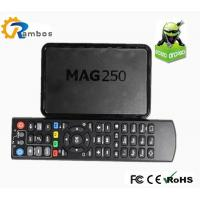 MAG250 Russian IPTV box RS-RA17 Linux System TV Set Top Box with Media JavaScript API Manufactures