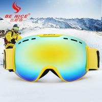 OTG Multicolor Lenses Snow Ski Goggles with Wind Dust UV 400 Protection Manufactures