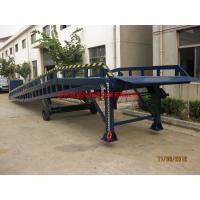 China Hand Control Movable Loading Ramp , Portable Loading Dock Ramps For Warehouse on sale