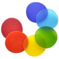 Eco-friendly soft silicone transparent cup coaster Manufactures
