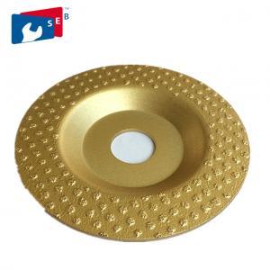 Continuous Rim Diamond Cup Wheel , Economic Diamond Floor Grinding Disc Manufactures