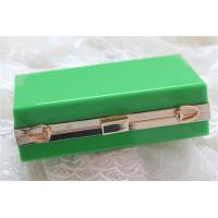 Green lady acrylic makeup storage boxes Retangle With waterproof Manufactures