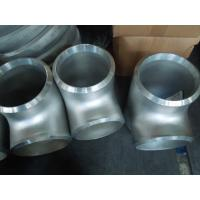 Stainless Steel Pipe Fitting ,Sanitary Equal Reducing Tees 321 904l Manufactures