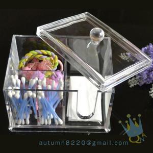 China acrylic makeup storage organizer with drawers on sale