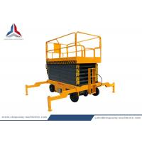 14m Working Height Hydraulic Mobile Scissor Lift Table with 500kg Capacity Manufactures