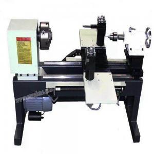 China On Promotion!CA-16 mini CNC wood lathe/wood turning lathe/buddha bead ball making machine on sale