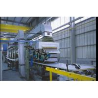 China 40mm Thickness Corrugated Sandwich Panel  Production Line  With 3m Mini Cutting Length on sale