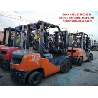 2 Or 3 Stage Mast Toyota Used Industrial Forklift TCM FD30 FD50 3t 5 Ton Manufactures