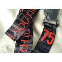 China Durable Woven Nylon Personalized Promotional Gifts , Sports Fans Team Neck Lanyard on sale