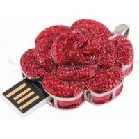 China The rose style usb memory stick on sale