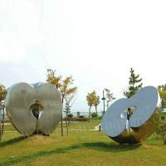 Apple Shape Matt Feature Stainless Steel Sculpture As Outdoor Lawn Decoration Manufactures