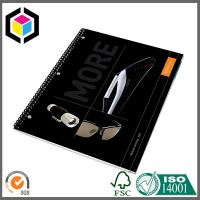 Color Printing Soft Cover Single Spiral Notebook; Office School Notebook Manufactures
