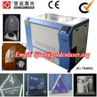 Art Glass Laser Engraving Machine for Decoration Manufactures