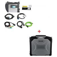 V2019  MB Star SD C4 Mercedes Benz Diagnostic Tool Plus Panasonic CF30 4G RAM Software Installed Ready to Use Manufactures