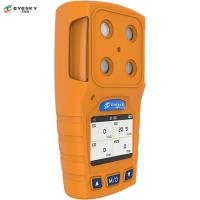 TFT Color Screen Display Portable Gas Analyser Industrial Production With LED Light Manufactures