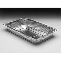Silver Aluminum Foil Baking Pans Food Freezing Deep Rectangle Shape Manufactures