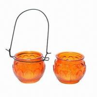 Quality Hanging glass candle holders for sale