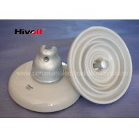 ANSI 52-3 White Disc Suspension Insulator For Distribution Power Lines Manufactures