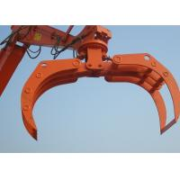 High Efficiency Rotating Excavator Bucket Tractor Grapple Attachment Manufactures