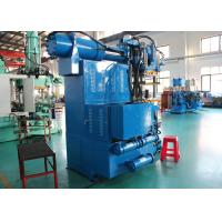 Hydraulic Rubber Press Machine , Rotery Feeding Cylinder Rubber Vulcanizing Machine Manufactures