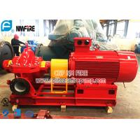 Buy cheap UL And FM Listed Horizontal Split Case Fire Pump Sets With TEFC Electric Motor Driver from wholesalers