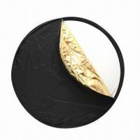 """80cm/32"""" 5-in-1 Light Mulit-collapsible Disc Reflector with Gold/Silver/White/Black/Translucent Manufactures"""