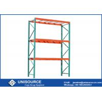 Rust Protection Teardrop Pallet Rack High Capacity Steel For Cold Storage Manufactures