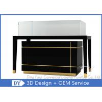 Luxury Nice Black Jewelry Shop Counters / Jewelry Counter Display Manufactures