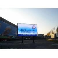 HD Digital Outdoor LED Sign PH20 Static Constant Current 1R1G1B Manufactures
