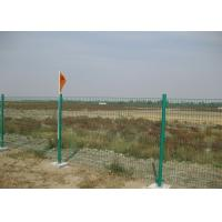 Industrial Safety Welded Mesh Fencing For School / Playground Protecting Manufactures