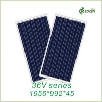 270W / 275W 36V Polycrystalline Solar Panels Grade A ISO 9001 Certified Manufactures