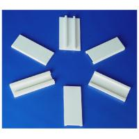 High Mechanical Strength Smooth Surface, White 95% AL2O3 / Alumina Ceramic Straighteners Manufactures