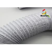 Quality Ventilation 3 Inch Insulated Flexible Duct PVC Aluminum Foil Easy Installation for sale