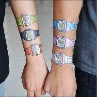 Lovely Cartoon Design Temporary Body Tattoo Stickers Manufactures