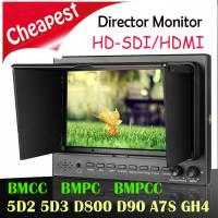 7 inch lcd SDI monitor for director Film/TV Shooting Manufactures
