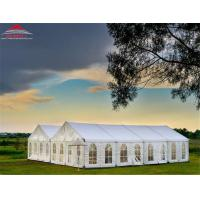 Outside Event Marquee Tent Max Wind Speed Allowance 70 - 100km/h Manufactures