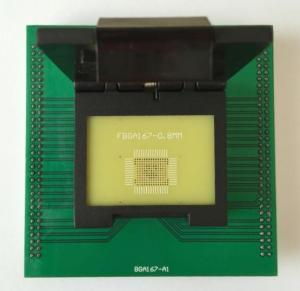 Buy cheap UP-828P FBGA 167P Adapter For UP828P Programmer FBGA167P Socket from wholesalers