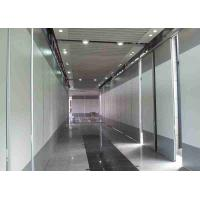 Acouistic Fireproof Folding Screen Room Divider Hpl Finished For Executive Offices Manufactures