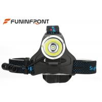 China 900LMs CREE LED Headlamp Water Resistant Works with 3 Pieces AA Batteries on sale