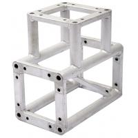 Recyclable 3 Way Screw Corner Aluminum Lighting Truss For Advertisement Manufactures