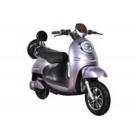 Fast Charging Electric Motorcycle Scooter 55 Km / H Max Speed High Safety Purple Manufactures